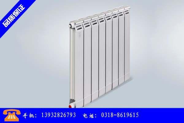 锦州凌河区钢制二柱暖气片17日价格向上拉涨