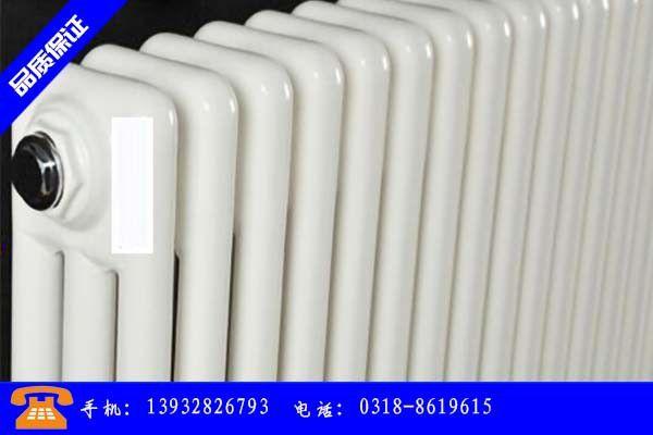 包头土默特右旗钢三柱暖气片适用广泛可定做