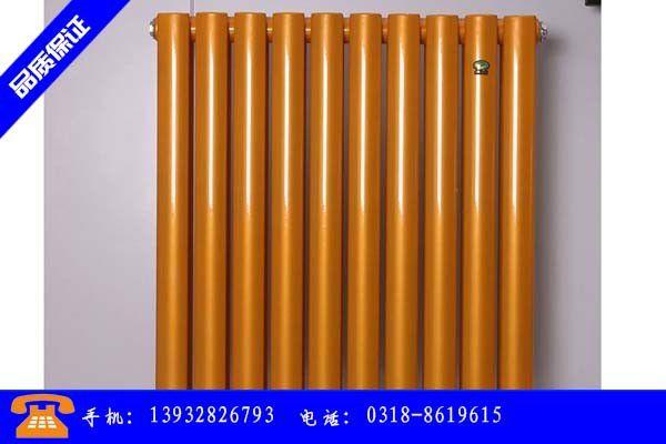 宜宾市钢制二柱暖气片