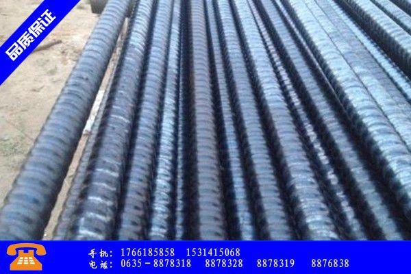 湖州德清县矿用螺纹钢锚杆的优势性能的防护