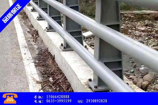 白城通榆县护栏杆施工工艺有什么不同