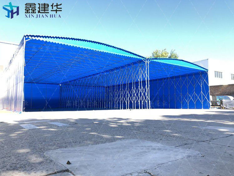 上海闸北区移动伸缩喷漆房多少钱一平