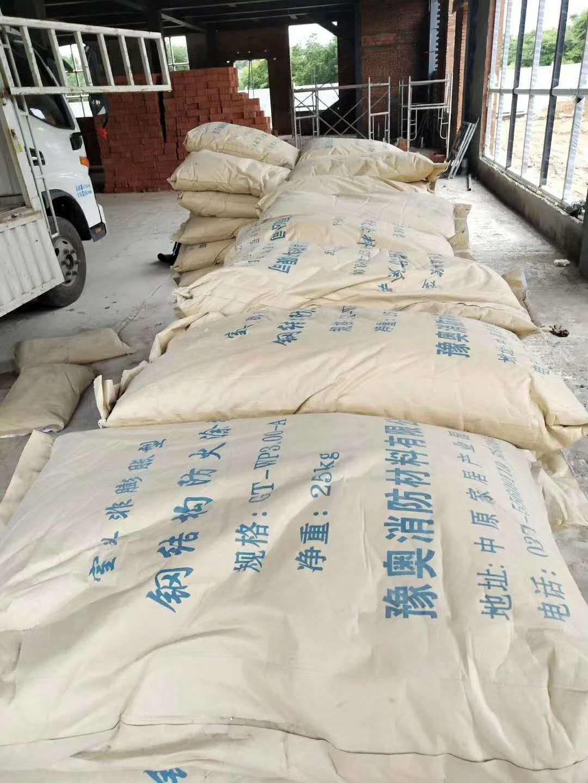 辉县市非膨胀型防火涂料工程施工