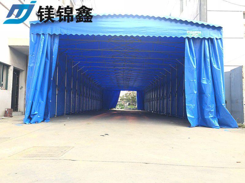 黄冈红安县伸缩推拉雨棚后期出口预测