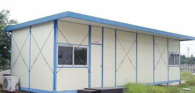 威海室外彩鋼活動板房搭建誠信為本