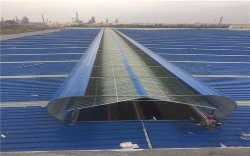 屋顶通风气楼的可塑性
