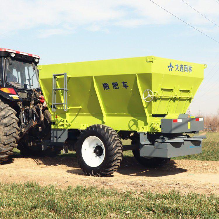 林芝地区墨脱县拖拉机牵引抛肥机批发厂家