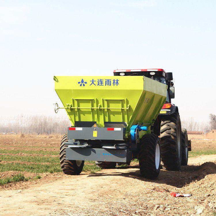 果洛藏族班瑪縣大型拖拉機頭帶的撒肥車廠家