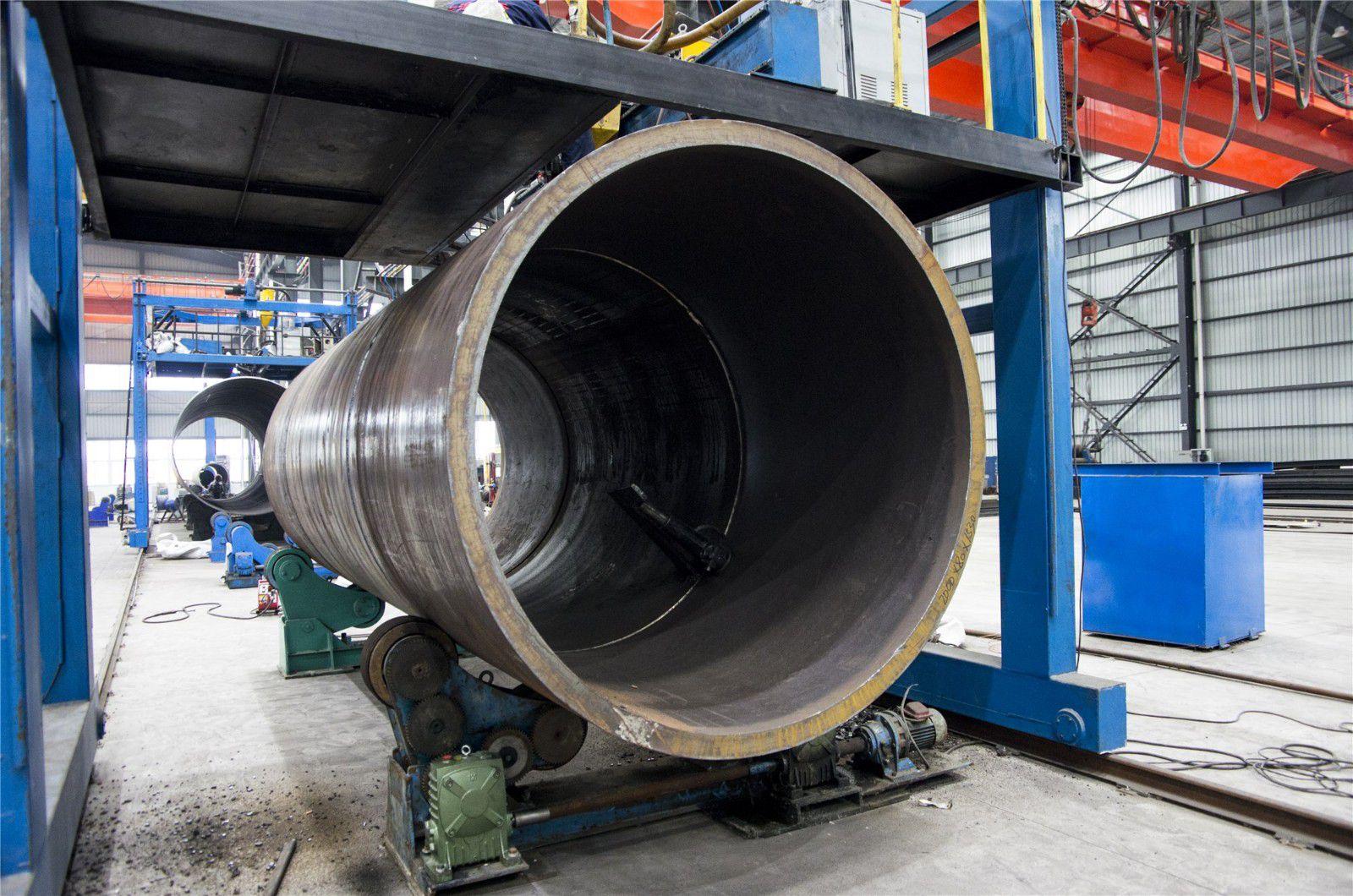齐齐哈尔大口径厚壁卷管对产业发展提出三个建议