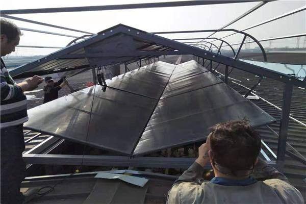 兰州市弧形启闭式通风天窗