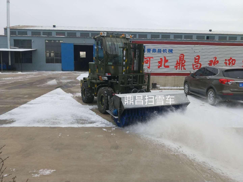 南昌进贤县小区物业扫雪车行业运行平稳产销衔接基本正常