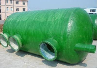 黔南布依族苗族罗甸县玻璃钢排污管道的调试
