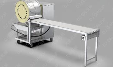衡水阜城县全自动春卷皮机器现货的跟进