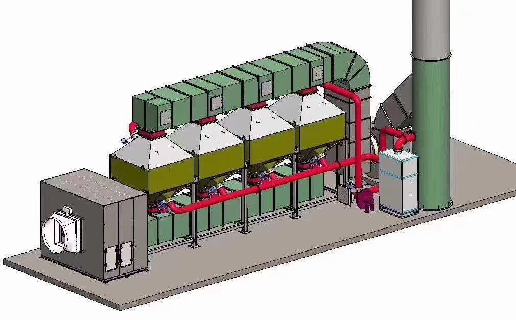 黃山黟縣RTO催化燃燒安裝要注意的事項有