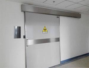 新密市电动防辐射铅门可视化的技术