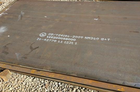 长春市NM360耐磨板市场交投气氛不足