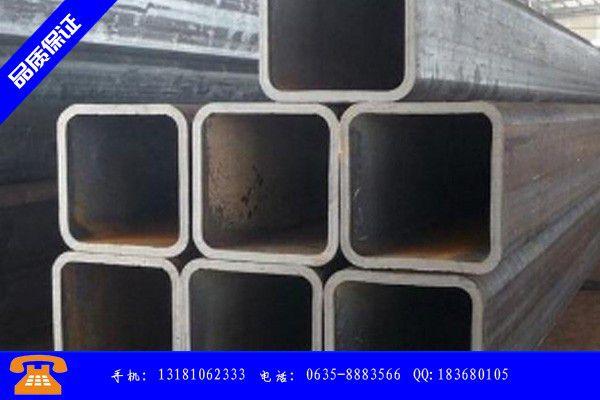 儋州市无缝方矩管厂产品问题的原理和解决