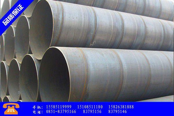怒江傈僳族自治州普通钢管材质分类今日报价