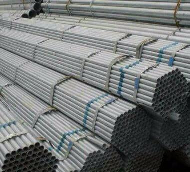什邡市6米的镀锌钢管一吨多少根价格持续稳定回落下游商家要尽早下单