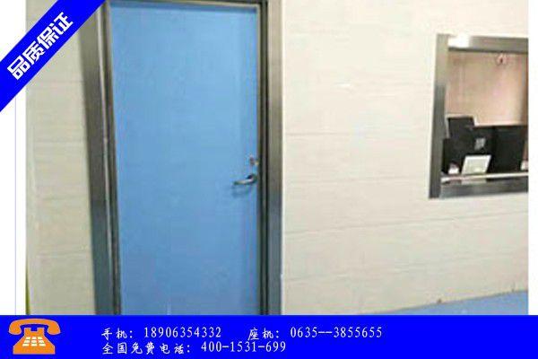 天津北辰区防辐射铅门执行标准效益凸显