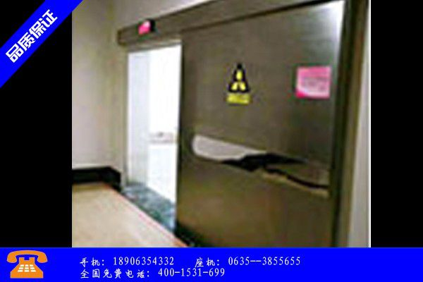 临汾霍州防辐射铅门配件尺寸规格表品种齐全