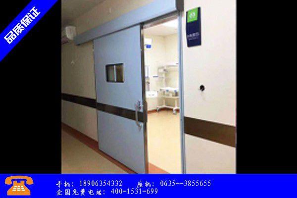 广州海珠区防辐射铅门规格主要分类