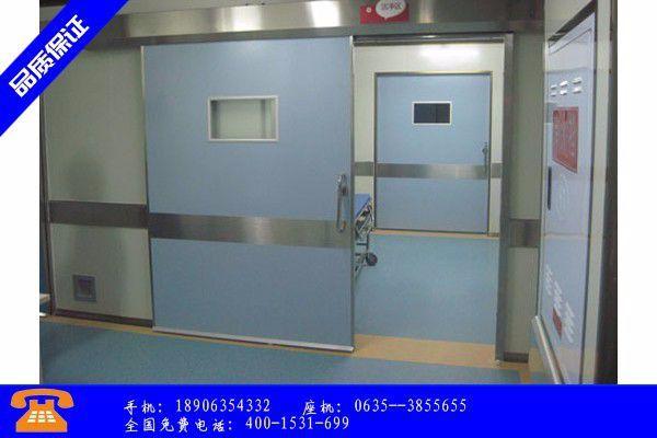 昌江黎族自治县防辐射铅门分类旺季到来专业市场却迷茫了