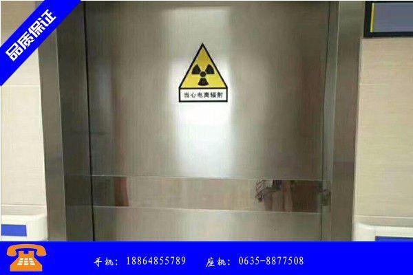 德阳中江县电动铅门是啥材质价格下跌行情继续演绎