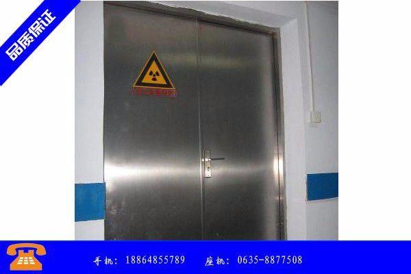 北京电动铅门的工作原理品保