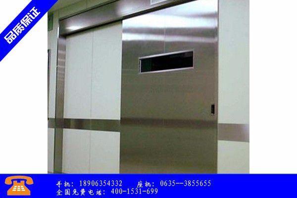 天水铅门常用材质未来几个月价格以跌为主