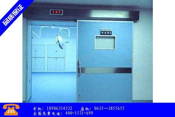 郑州登封射线防护门国标市场格局变化