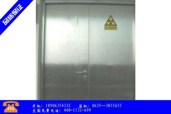 普宁市射线防护门属于什么材料价格行情