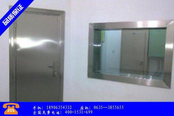 肇庆怀集县射线防护门图片名称主要功能与优势