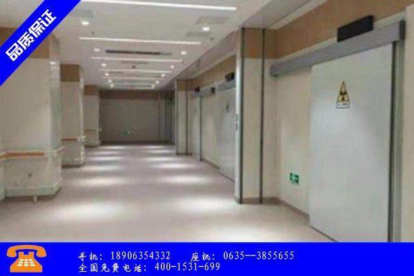 衢州市射线防护门形式简析影响加工过热原因