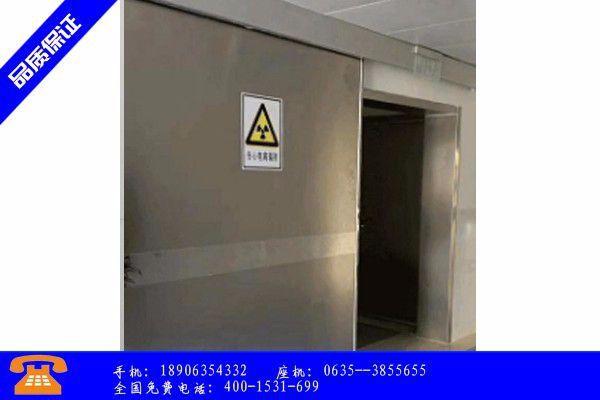 大丰市射线防护门安装现场图社会库存继续下降