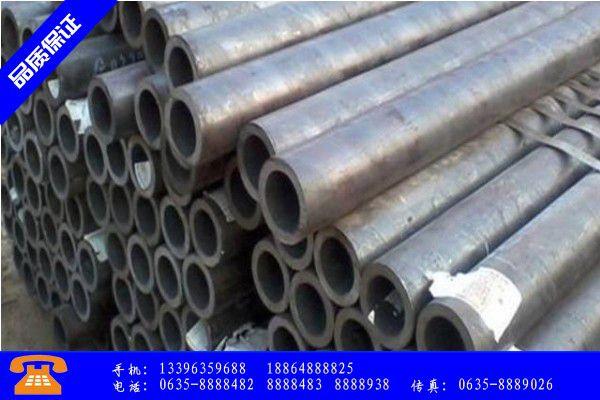 晋城高平热轧无缝钢管型号简表产品发展趋势