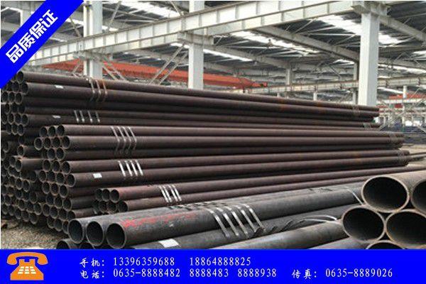 青岛市Q345B无缝钢管美标尺寸表业绩良好