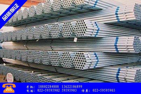 香河县镀锌钢管角度行业研究报告