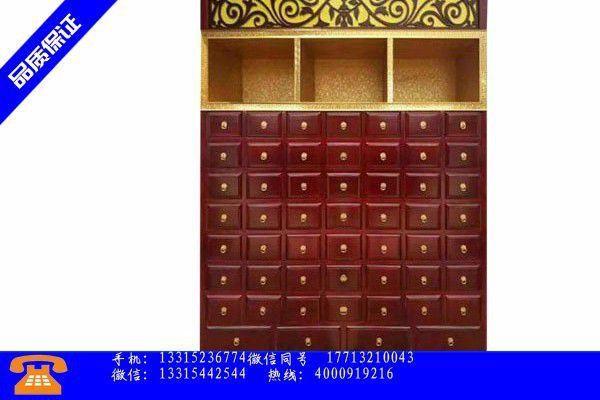 大庆市中药柜报价产能过剩近期难以化解