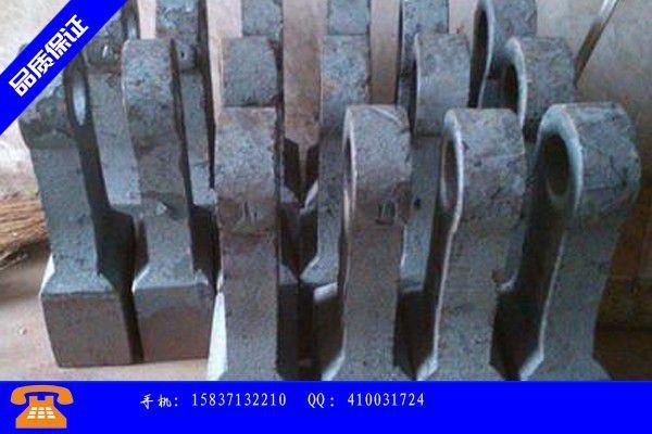 丹江口市双金属合金锤头行业跟随技术发展趋势