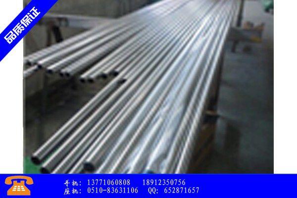 崇左304卫生级不锈钢管钢管规格表行业出路