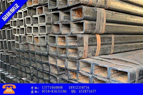 鸡西鸡东县精密异型钢管常用规格的行业须知