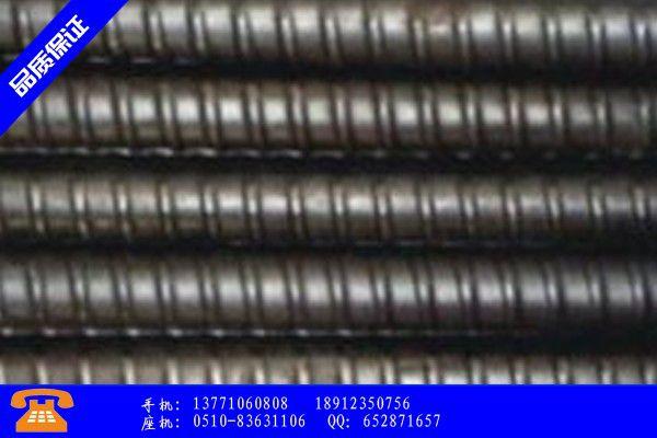 甘孜藏族理塘縣精軋螺紋鋼規格筋值得期待