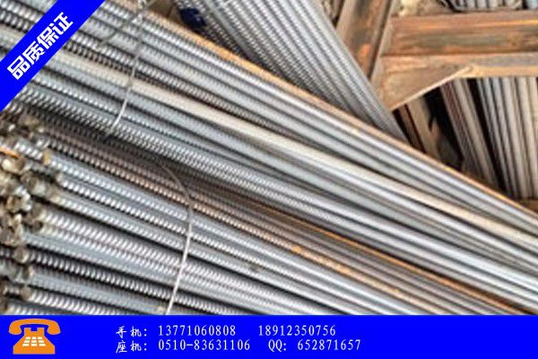 資陽精軋螺紋鋼規格變謀發展