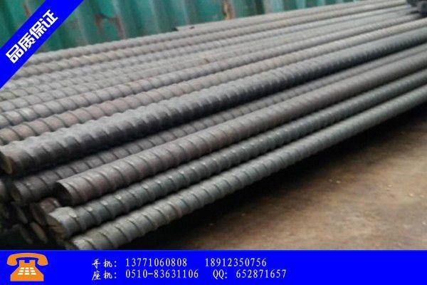 泸州合江县预应力20精轧螺纹钢筋品种齐全