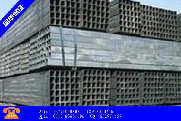 淮北常用热镀锌焊接钢管品牌市场价格跌