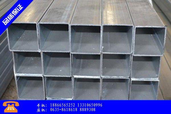 南京六合区热镀锌方矩管重量表欢迎来电