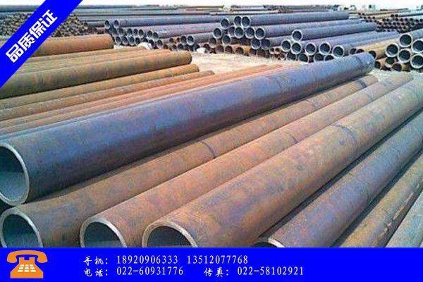 赤峰Q390D无缝钢管专业市场交投氛围欠佳价格稳中下跌