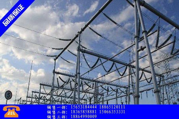 安国市变电站架构近期或有反弹现象出现