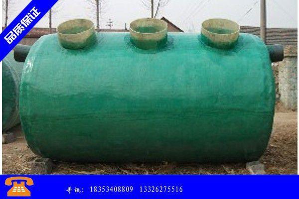 桂林秀峰区化粪池安装图的详细分析及用途